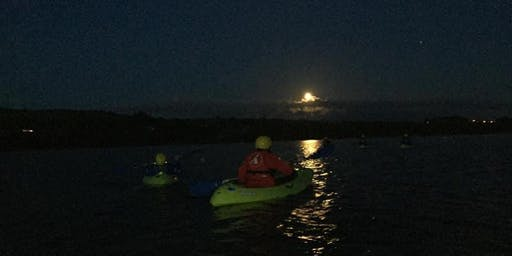 Kayaking by moonlight on Wednesday 17th July from Twomilegate at 9.30pm