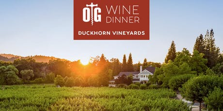 Duckhorn Vineyards Wine Dinner at Oak Grill tickets