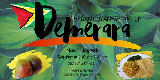 Demerara: Vegan Guyanese Pop- Up