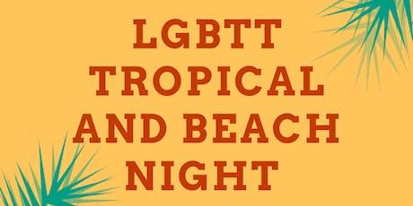 LGBTT Tropical and Beach Night entradas
