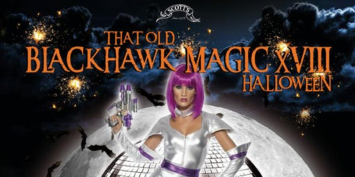 Old Blackhawk Magic Halloween Party XVIII