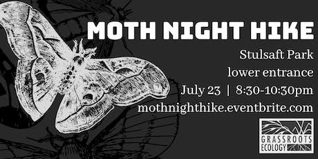 Moth Night Hike at Stulsaft Park tickets