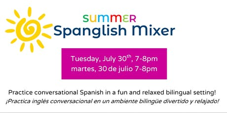 Spanglish Mixer/Mezclador Spanglish  tickets