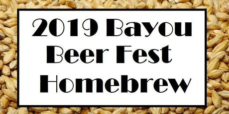 Homebrew for the 7th Annual Bayou Beer Festival tickets