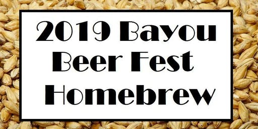 Homebrew for the 7th Annual Bayou Beer Festival