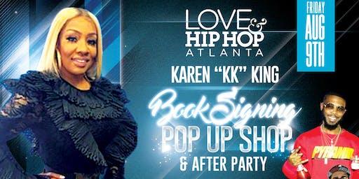 """Do You Know Me Book Signing LHHATL Karen """"KK King Raleigh """"Paris Lounge"""""""