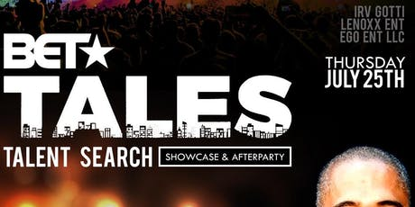 IRV GOTTI PRESENTS TALES TALENT SEARCH tickets