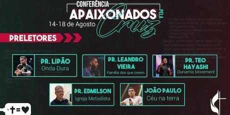 Conferência Apaixonados Pela Cruz ingressos