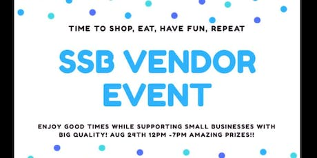 SSB Vendor event tickets