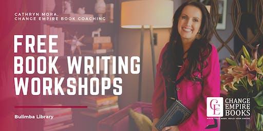 Free Book Writing Workshop Wed 21 August