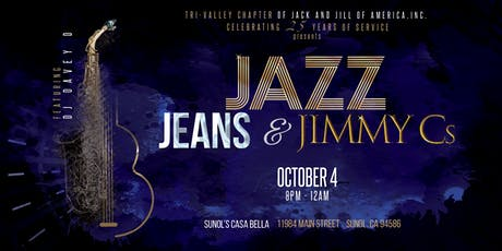 Jazz, Jeans & Jimmy Cs 2019 tickets