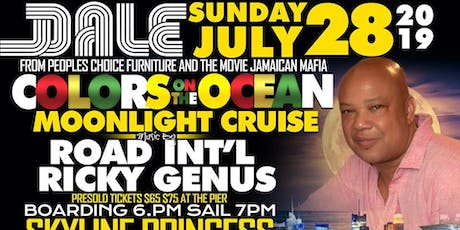 COLORS ON THE OCEAN MOONLIGHT CRUISE tickets