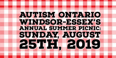 Autism Ontario Windsor Essex Summer Picnic 2019 tickets
