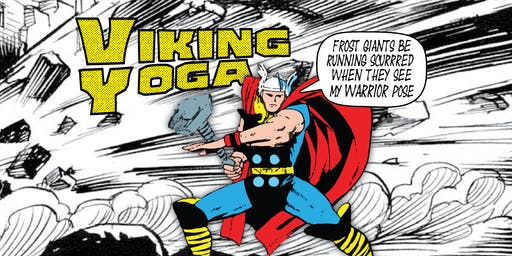 Viking Yoga!