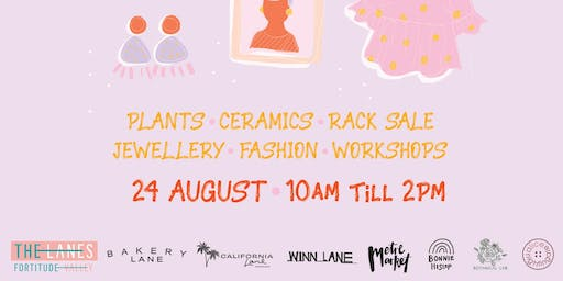 Pre-Loved Rack Sale - The Lanes x Metre Market