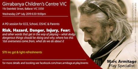 Dodgy Risky Dangerous Play - in Ballarat tickets