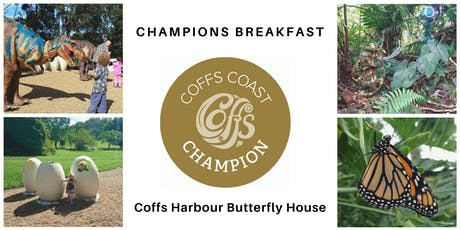 Coffs Coast Champions Breakfast - Butterfly House tickets