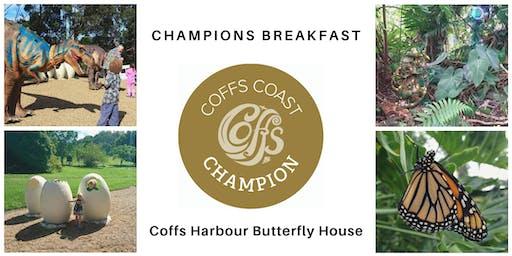 Coffs Coast Champions Breakfast - Butterfly House