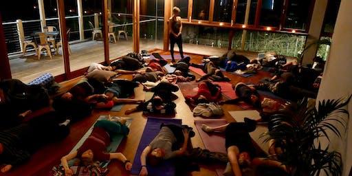 A VERY Special Yoga, Wine & 5 Stars!