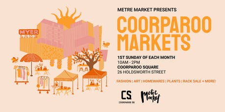 Pre-Loved Rack Sale - Coorparoo Square x Metre Market tickets