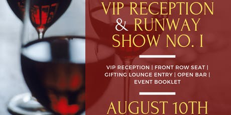 VIP Reception & Runway Show I  tickets