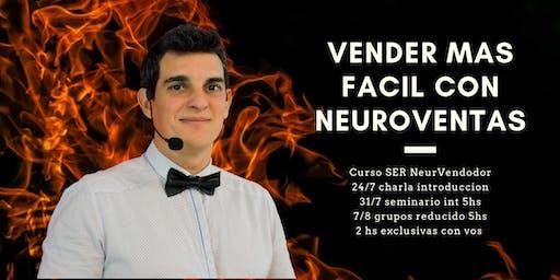 Curso Ser NeuroVendedor, vender va a ser diferente después de este curso.