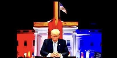 Salute To America Candlelight Prayer Vigil in DC - Trump2020!