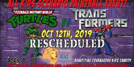 TMNT vs Transformers tickets