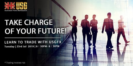 Take charge of your future! Learn to trade with USGFX tickets