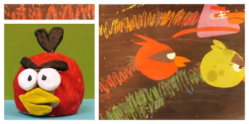 FALL SPECIAL 50% OFF!  Date Night- Angry Birds (3-9 Years)