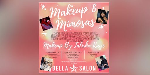 Makeup By Talisha Kaye's Makeup & Mimosas Hands On Class