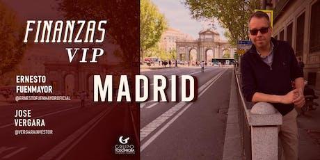Finanzas VIP MADRID entradas