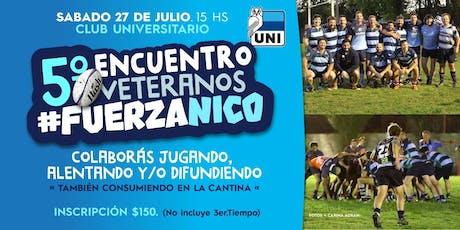 5to. Encuentro de Rugby #Fuerza Nico entradas