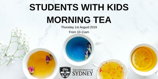 Students with Kids Morning Tea - The University of Sydney