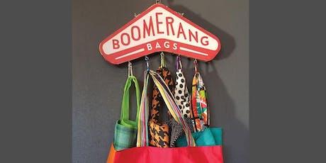 Boomerang Bag Making Workshop - September tickets