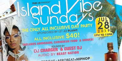 Island Vibe Sundays All Inclusive Day Party