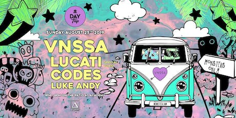 Day Trip feat. VNSSA, Lucati, Codes tickets