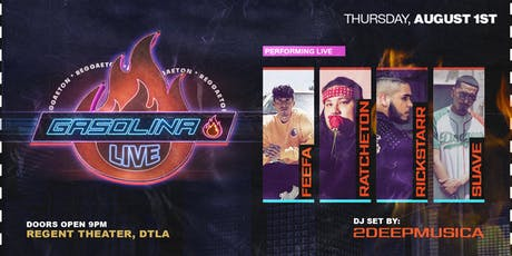 Gasolina Live  tickets