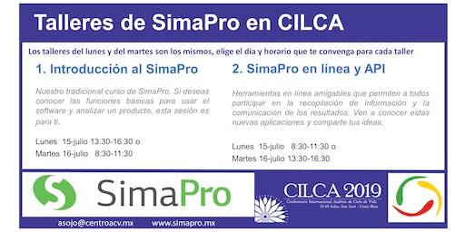 SimaPro en línea y API. Martes 13:30-16:30