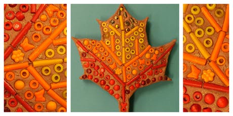 Mommy's Time Off- Clay Factory: Fall Mosaics (3-9 Years) tickets