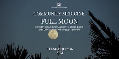 Full Moon: Movement, Breathework and Crystal Soundhealing
