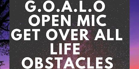 G.O.A.L.O. Open Mic  tickets