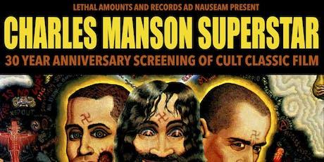 Charles Manson Superstar tickets