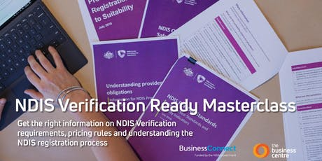 NDIS Verification Audit Ready Masterclass - Central Coast tickets