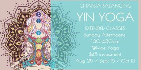 Yin Yoga Sunday Afternoon (August with Caroline) tickets