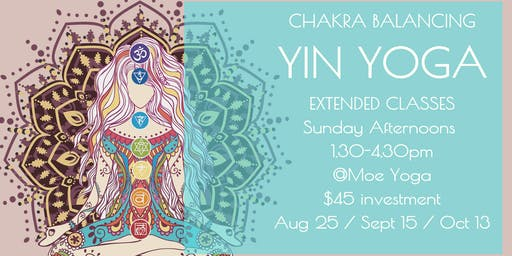 Yin Yoga Sunday Afternoon (August with Caroline)