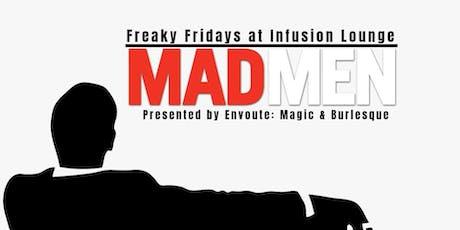 7/19 - Burlesque & Booze: MAD MEN tickets