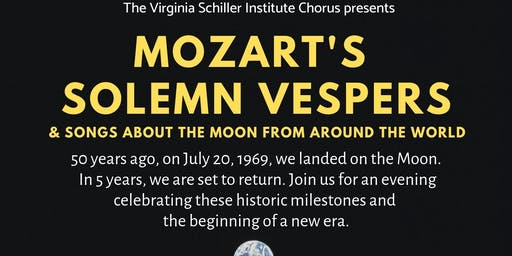 "Mozart's ""Solemn Vespers"" and Songs about the Moon from Around the World"
