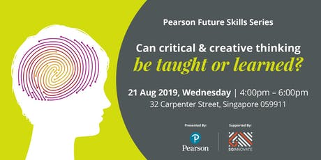Can Critical and Creative Thinking Be Taught or Learned? tickets