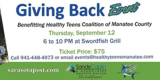 Giving Back Event for Healthy Teens Coalition